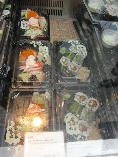 Sushi-Pakete