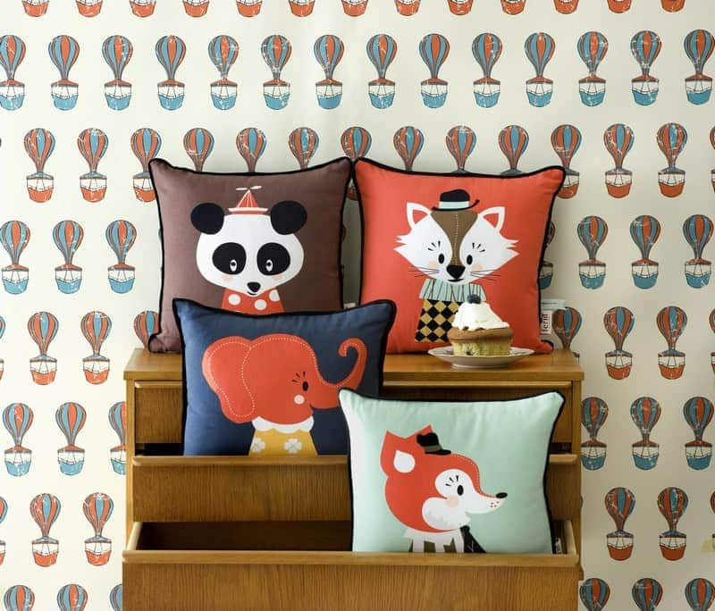 Kissen Für Kinderzimmer | Tolle Kindersachen Bettwasche Tapeten Furs Kinderzimmer Kissen