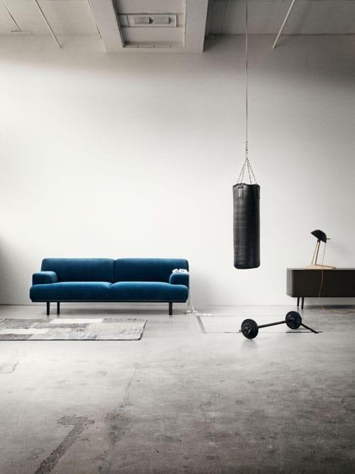 Ein Sofa Und Ein Riesiges Wandbild Beides Von Bolia Wer Hätte