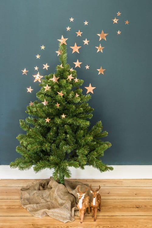 Stern-Spektakel Weihnachsbaum 500