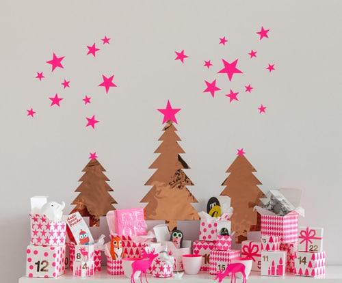 Adventskalender mit Geschenken