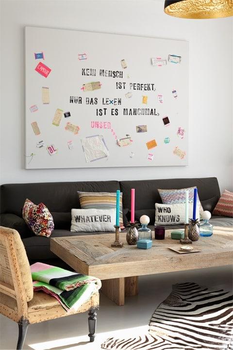 """""""Wie eine Wohnung ein Zuhause wird"""" Bild 1"""