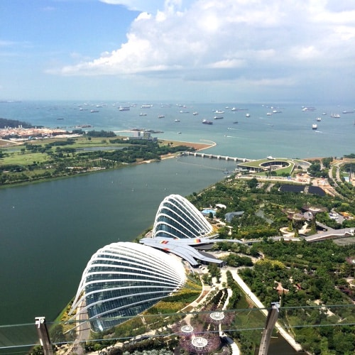 Singapur GardensoftheBay