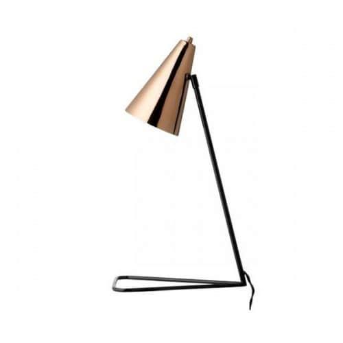 tischlampe kupferfarben von bloomingville ohhh mhhh. Black Bedroom Furniture Sets. Home Design Ideas