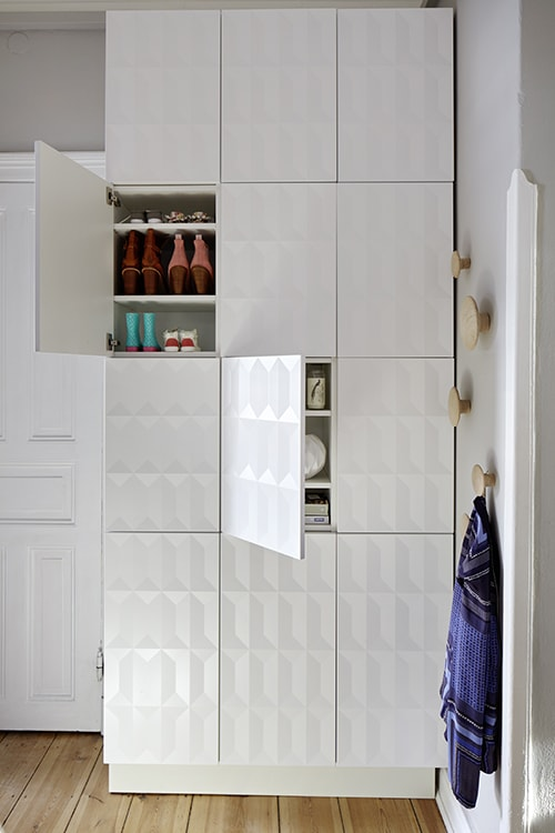 Ikea hack garderobe ikea hacks and pimps for your ikea - Ikea kallax flur ...