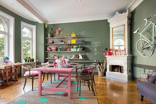 Die Schwedische Interior Designerin Isabelle McAllister Ist Die Wahre Pippi  Langstrumpf. Sie Malt Sich Die Welt, Wie Sie Ihr Gefällt.
