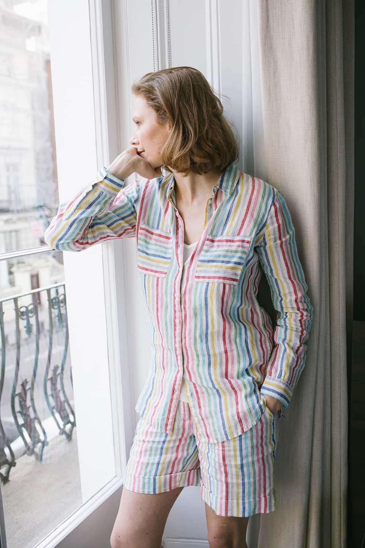 Pyjama stehend Blogpost