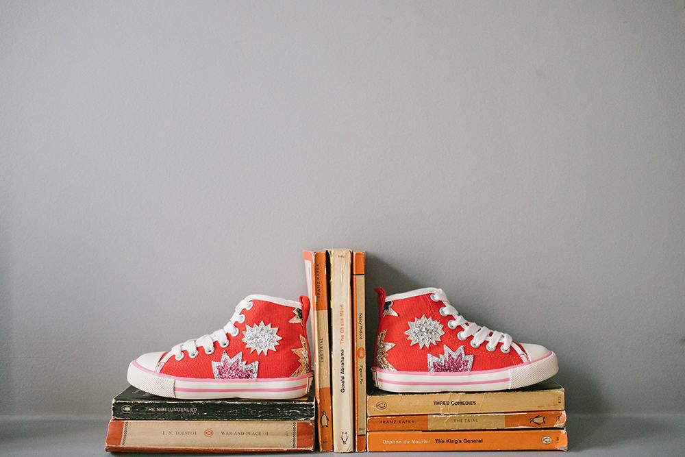 Schuhe rot Boden Blogpost