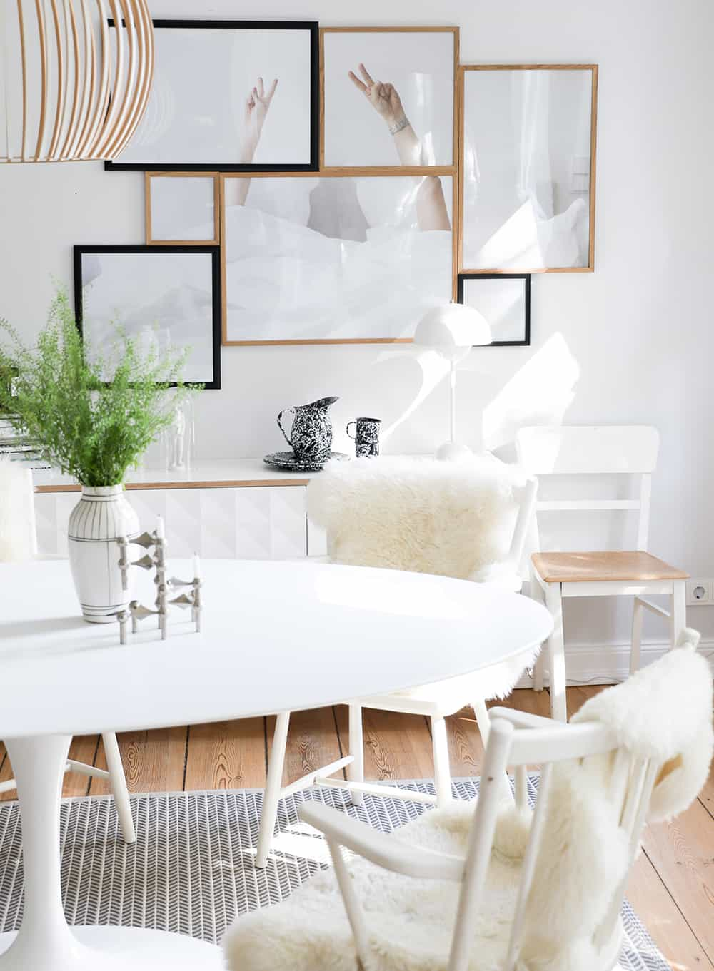 Ehrlich Gesagt Wusste Ich Sofort, Welchen Tisch Ich Wollte: Den  Saarinen Tisch (auch Tulip Table Genannt) Von Knoll International.