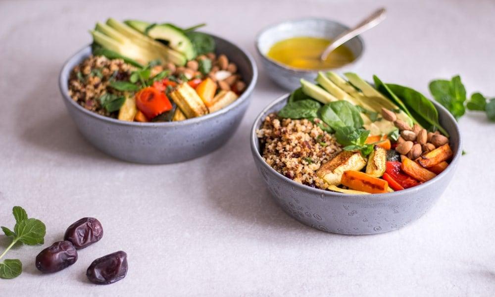 Uberlegen Damit Wir Uns Diese Woche Alle Ein Stück Marrakesch In Die Küche Holen  Können, Gibt Es Heute Diese Magische Marokkanische Quinoa Bowl.