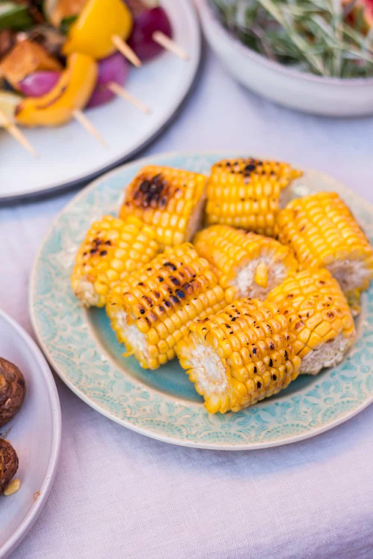 Das etwas andere Grillfest, bei dem das Gemüse dem Fleisch die Schau ...