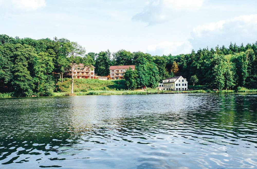 Das Gut Klostermühle direkt am Madlitzer See