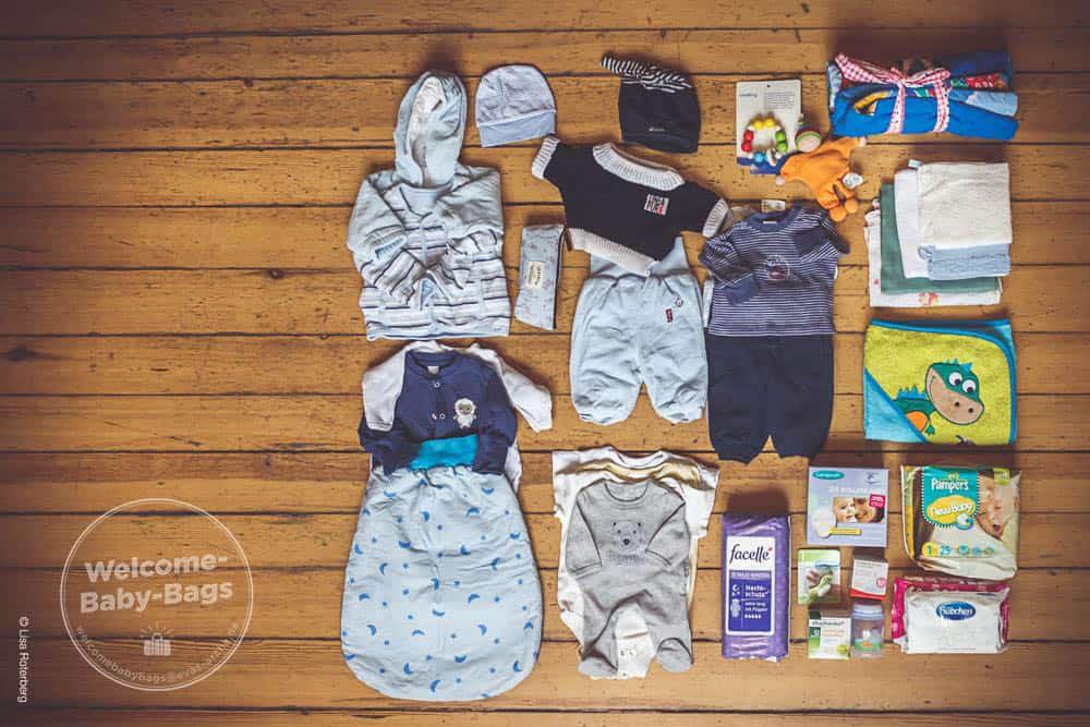Erstausstattung welcome baby bags