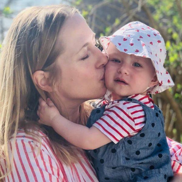 Alexa von Heyden mit Tochter